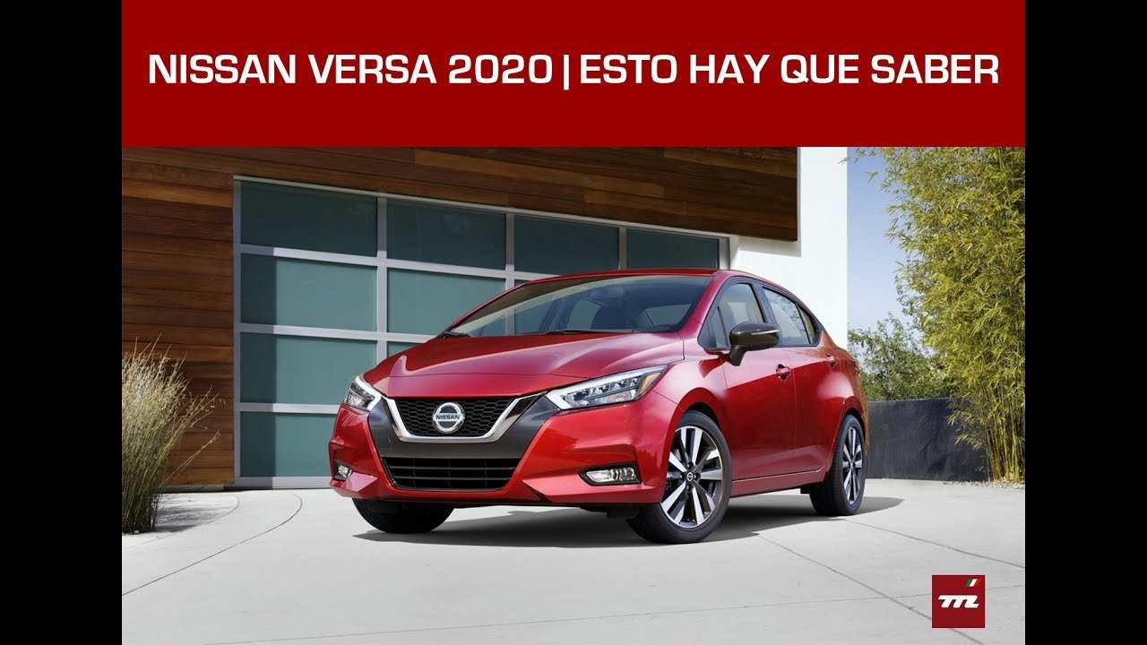 59 Best Nissan Versa 2020 Mexico Price And Release Date