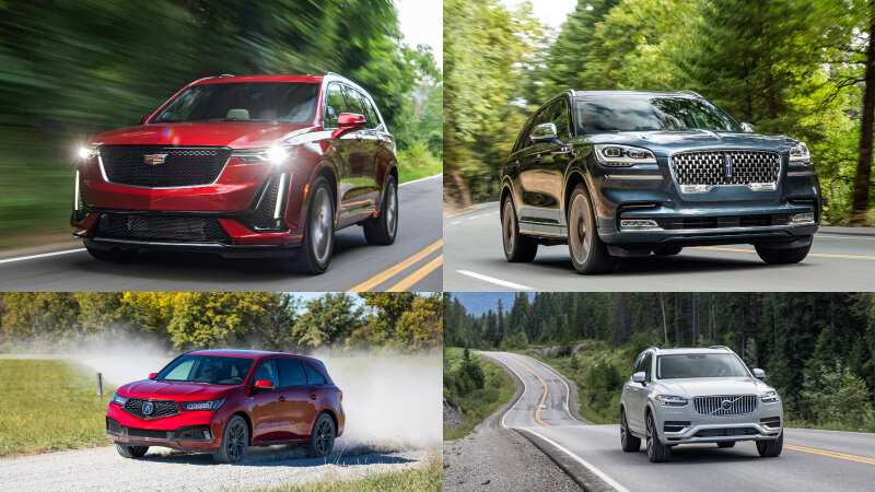 64 A 2020 Lincoln Aviator Vs Volvo Xc90 Engine