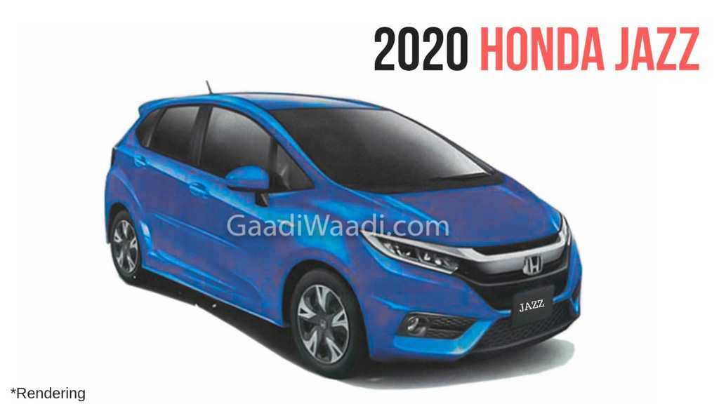 66 All New Honda Jazz 2020 Concept Exterior And Interior
