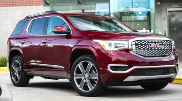 68 New Gmc 2019 Acadia Price And Release Date Images