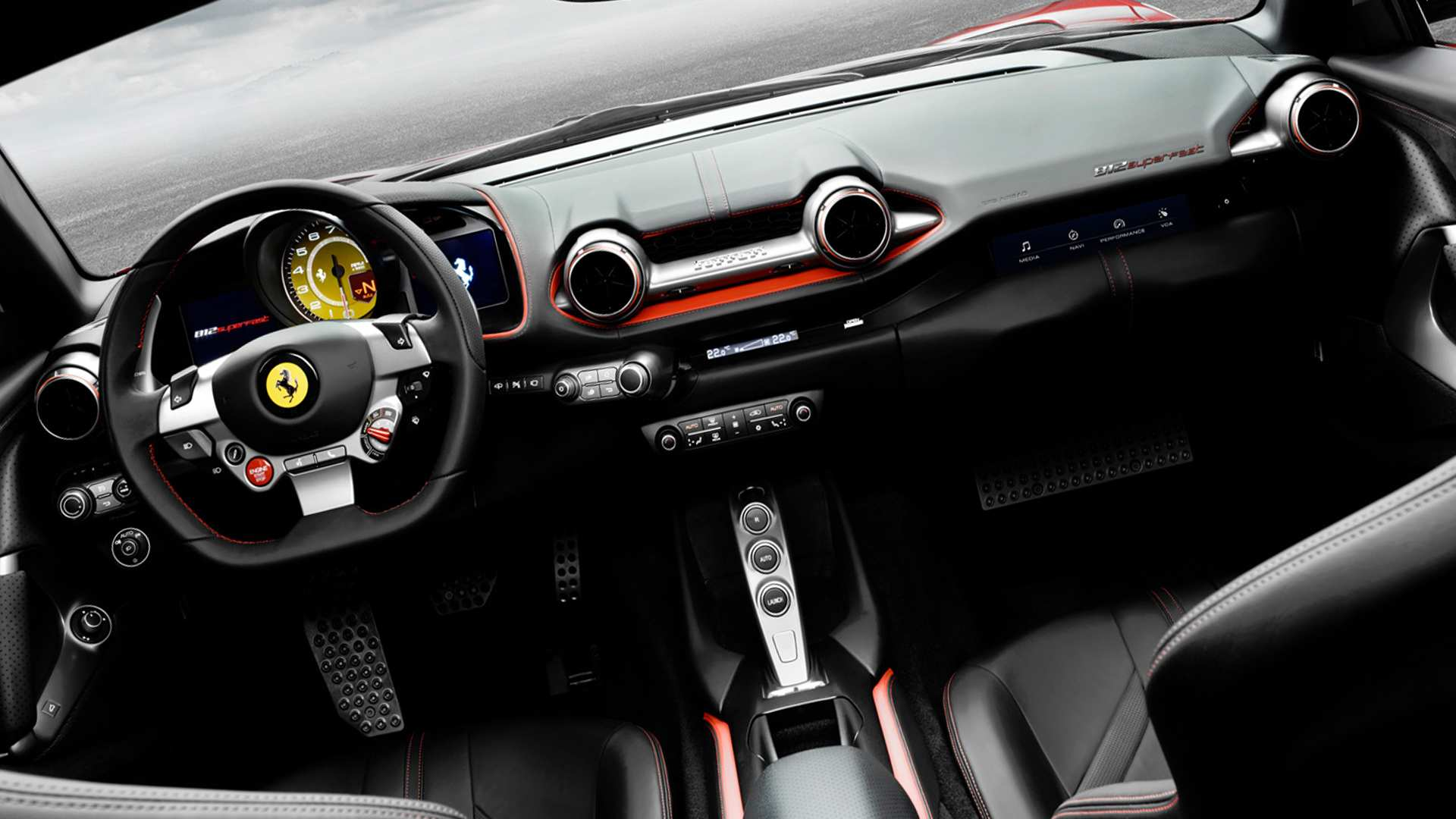 68 The Best 2019 Ferrari Superfast Interior Redesign And Review