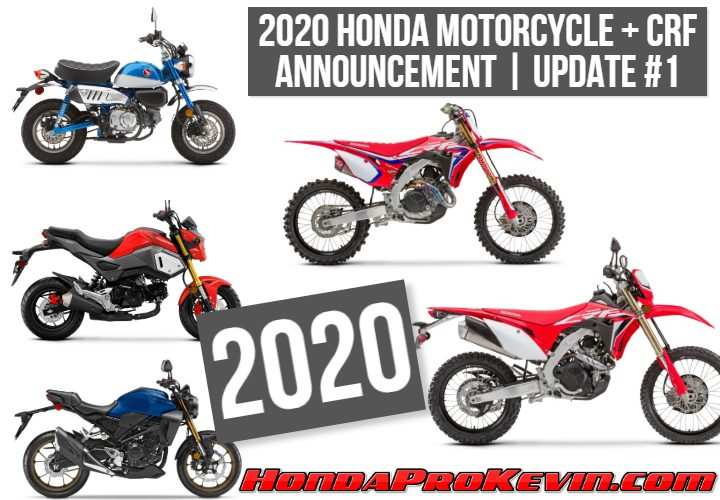 69 New Honda Motorcycles New Models 2020 Price Design And Review