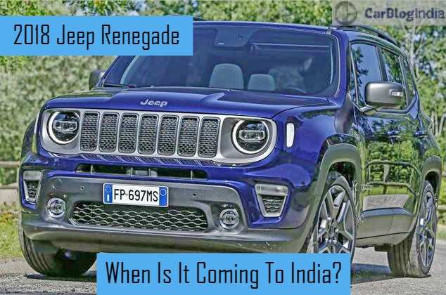 71 Best The Jeep Renegade 2019 India New Review Model
