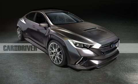 71 The Best Subaru Wrx 2020 Redesign New Concept