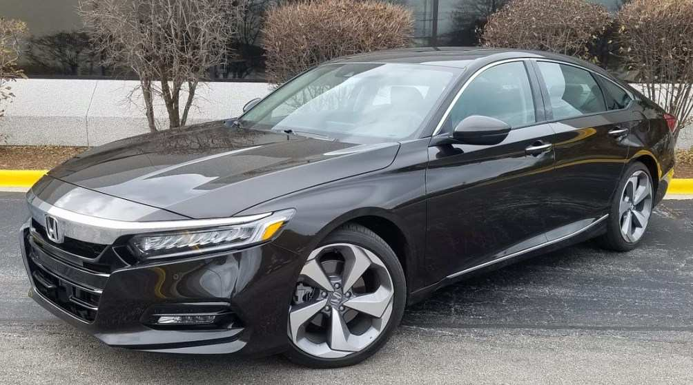 72 The Honda Accord 2020 Redesign Spy Shoot