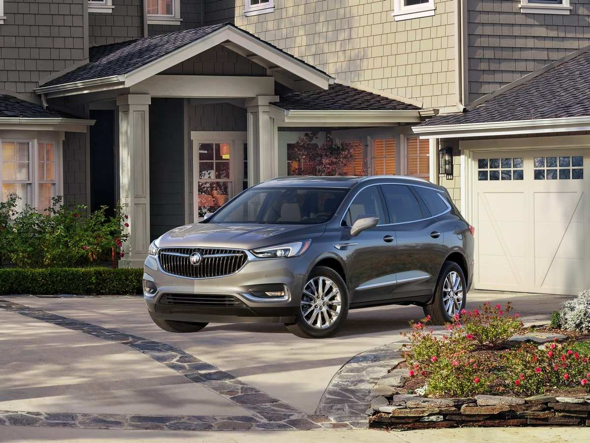 73 New The 2019 Buick Enclave Wheelbase Review Release