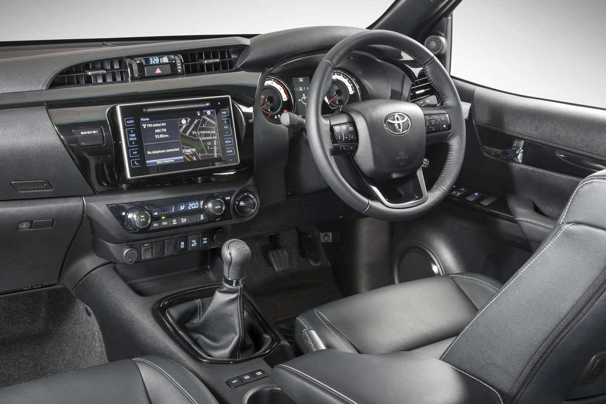 73 The The Toyota Legend 50 2019 New Interior Performance