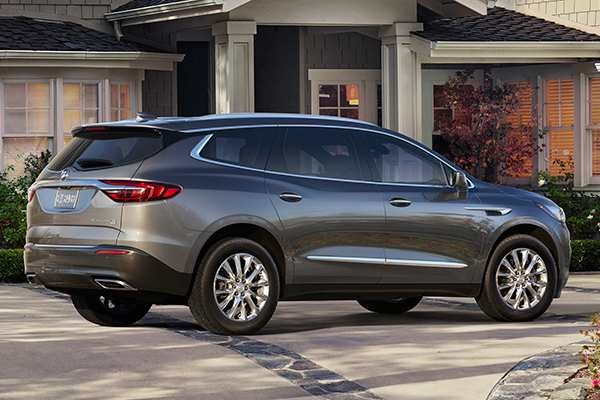 74 A The 2019 Buick Enclave Wheelbase Review Research New