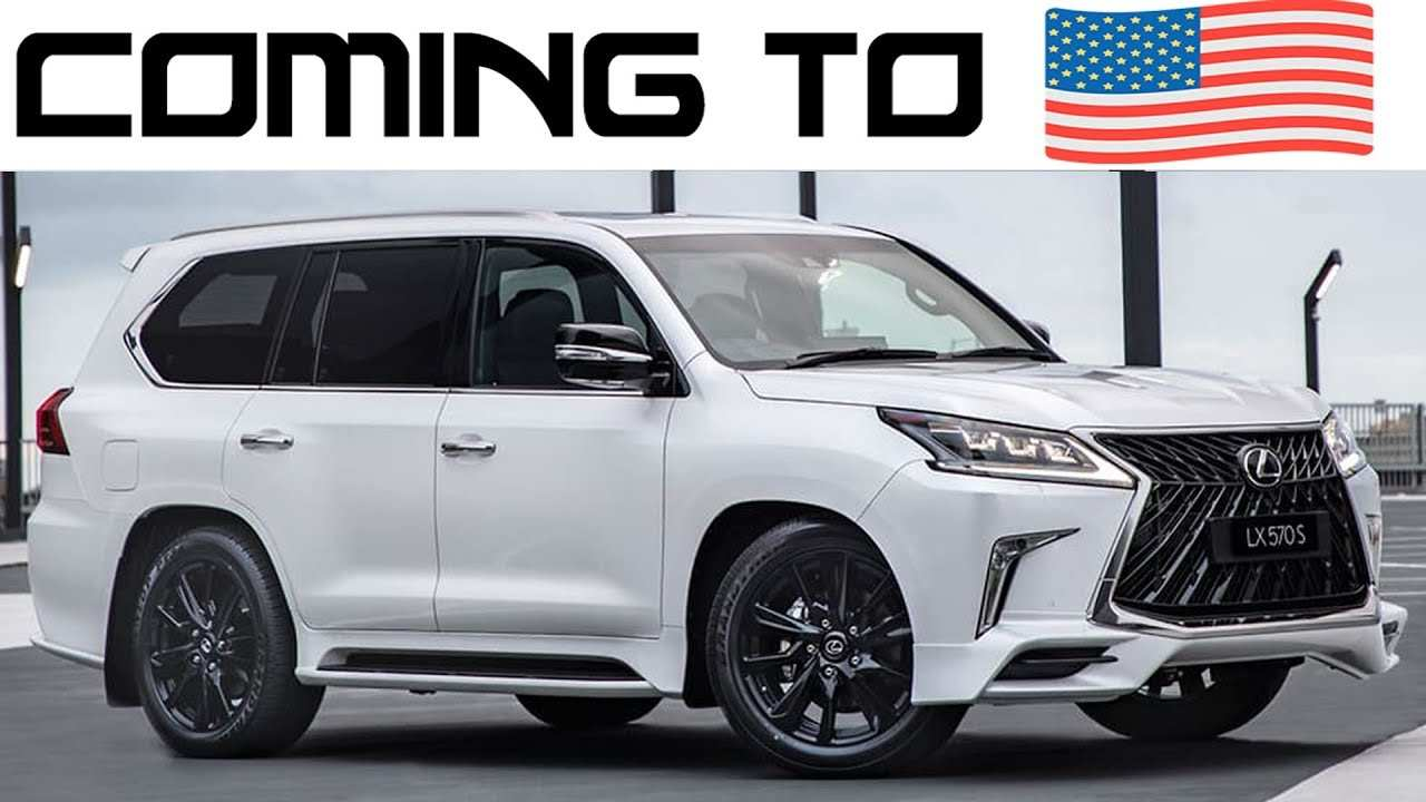 74 New Lexus Lx 570 Year 2020 Exterior