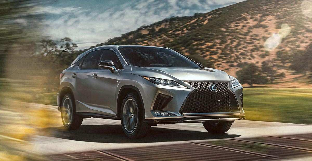 76 New Lexus Rx 2020 Facelift Interior