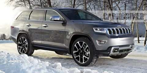 78 All New 2020 Jeep Wagoneer And Grand Wagoneer Style