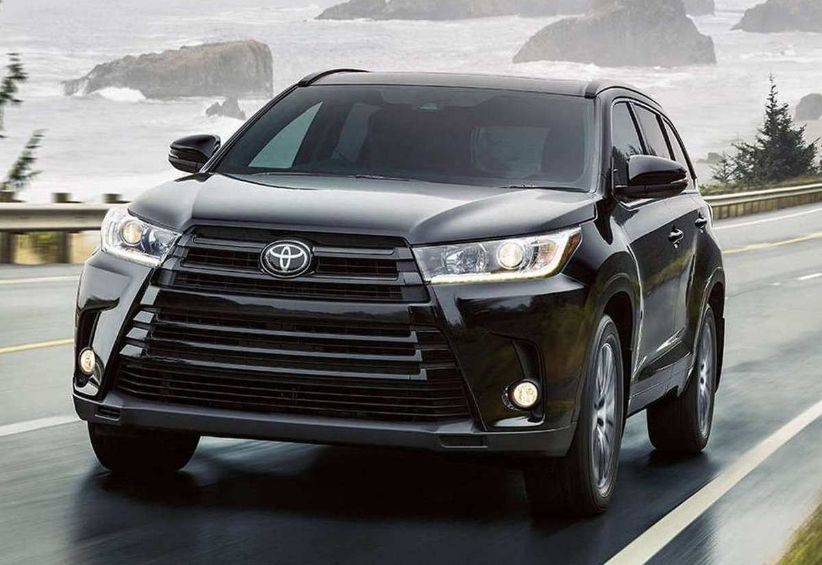 78 The Best The Toyota Highlander 2019 Redesign Concept Interior