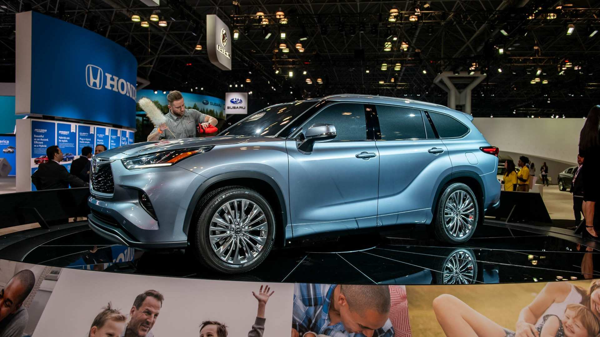 78 The Best The Toyota Highlander 2019 Redesign Concept Specs And Review