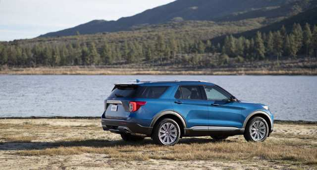 79 The Best 2020 Ford Explorer Hybrid Mpg Spy Shoot