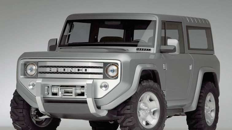 83 The Dwayne Johnson Ford Bronco 2020 Overview
