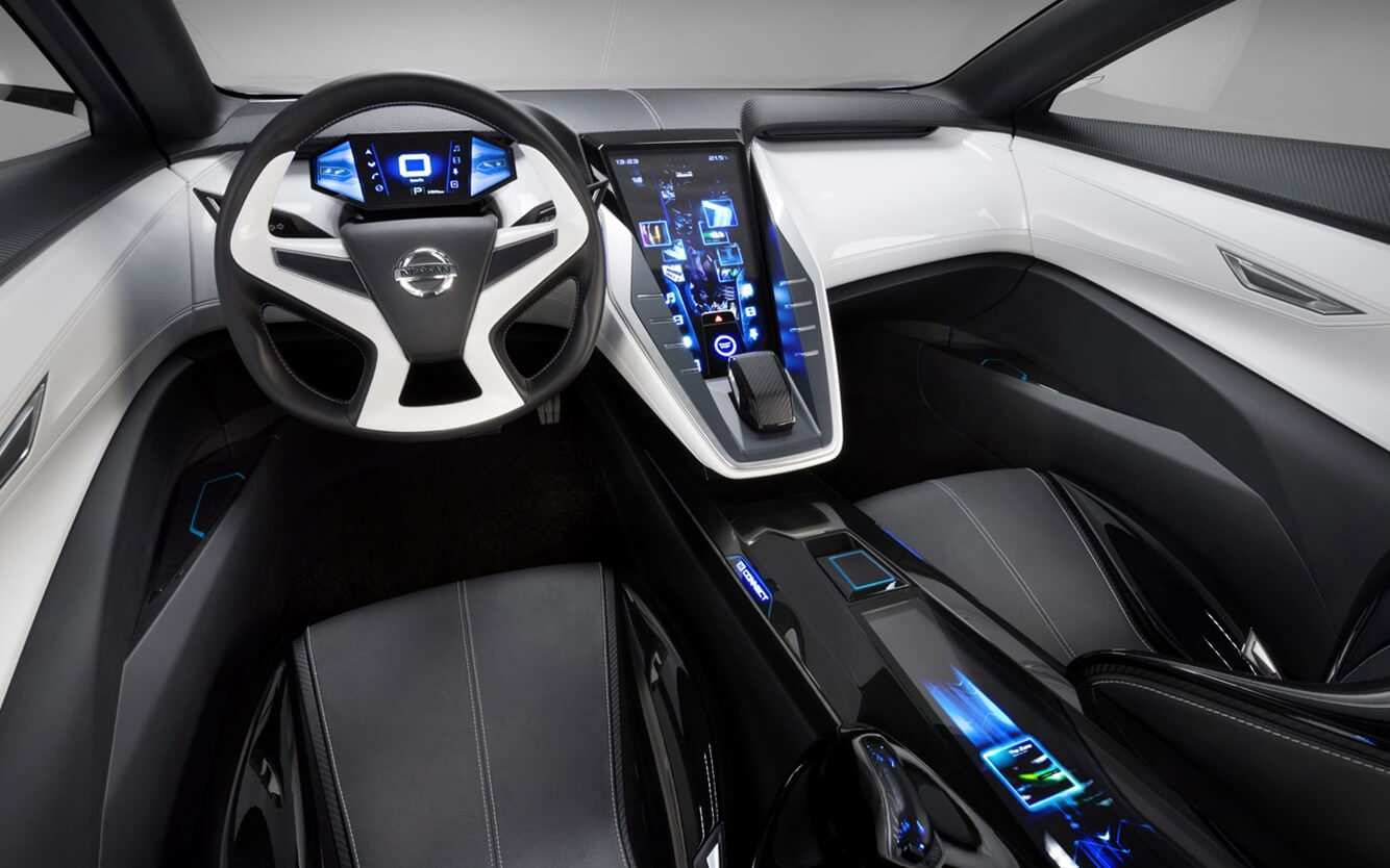 85 A Nissan Concept 2020 Interior History