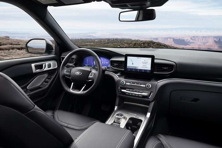85 The 2020 Ford Explorer Interior Picture