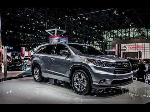88 Best The Toyota Highlander 2019 Redesign Concept Spesification