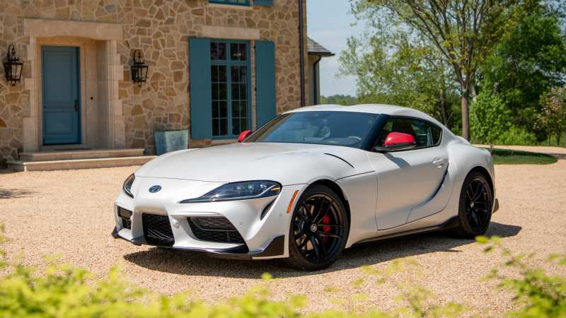 88 New Pictures Of The 2020 Toyota Supra Spy Shoot