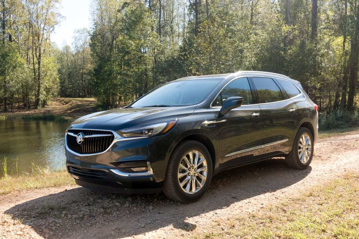 89 A The 2019 Buick Enclave Wheelbase Review Spesification
