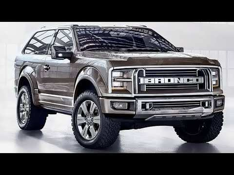 92 All New Dwayne Johnson Ford Bronco 2020 Prices