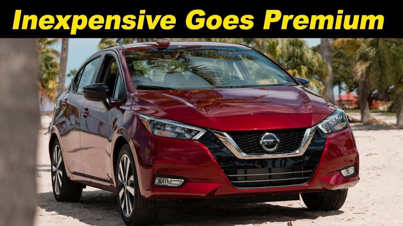93 The Nissan Versa 2020 Mexico Redesign And Review