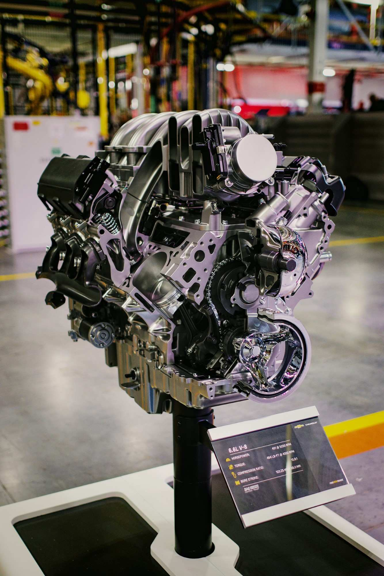 95 A 2020 Chevrolet 6 6 Gas Engine History
