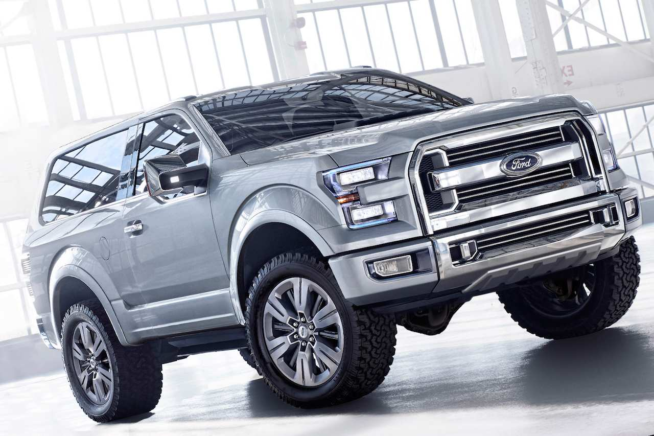96 A 2020 Ford F150 Atlas Spy Shoot