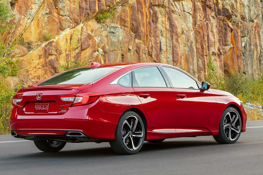 97 The Honda 2019 Accord Coupe Review Spy Shoot