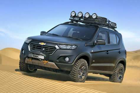 99 A Chevrolet Niva 2020 Spesification